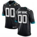 Hommes Jacksonville jaguars Nike noir personnalisé équipe couleur maillot de jeu