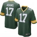 Green Bay Packers davante Adams Nike Green Team maillot de jeu pour hommes