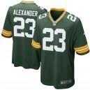 Green Bay Packers jaire Alexander Nike maillot de jeu vert pour homme