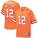 Hommes de Tampa Bay Buccaneers Doug Williams NFL Pro ligne orange retraité joueur équipe maillot