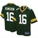 Hommes de Green Bay Packers Jake Kumerow NFL Pro ligne joueur vert maillot