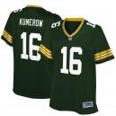 Les femmes Green Bay Packers Jake Kumerow NFL Pro ligne joueur vert maillot