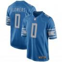 Maillot de jeu pour homme Detroit Lions Trey Flowers Nike Blue
