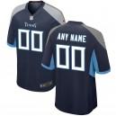 Tennessee Titans Nike Navy maillot de jeu personnalisé pour hommes
