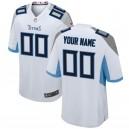 Tennessee Titans Nike blanc maillot de jeu personnalisé pour hommes