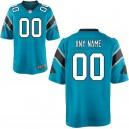 Hommes Carolina Panthers Nike bleu jeu maillot personnalisé