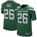 New York jets Le'Veon Bell Nike Gotham maillot de jeu vert pour hommes
