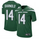 New York jets pour hommes Sam Darnold Nike Gotham maillot de jeu vert