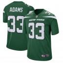 New York jets jamal Adams Nike Gotham maillot de jeu vert pour hommes