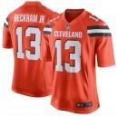 Maillot de jeu pour homme Cleveland Browns Odell Beckham Jr Nike orange