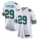 Hommes Miami Dolphins Minkah Fitzpatrick Nike blanc Throwback maillot de jeu