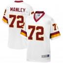 Washington Redskins hommes Dexter Manley NFL Pro ligne blanc retraité joueur Maillot