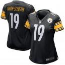 Maillot de jeux pour femmes Pittsburgh Steelers JuJu Smith-Schuster Nike Noir