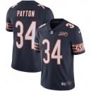 Chicago Bears des hommes Walter Payson Nike Navy 100e saison à la retraite Limited Maillot