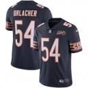 Hommes Chicago Bears Brian Urlacher Nike Navy 100e saison à la retraite Limited Maillot