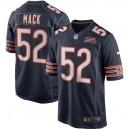 Maillot homme Chicago Bears Khalil Mack Nike Navy 100e saison