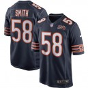 Hommes Chicago Bears Roquan Smith Nike Navy 100e saison maillot de jeu