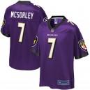 Ravens de Baltimore Hommes Trace McSorley NFL Pro Line Purple Player Maillots