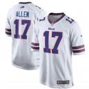 Maillot de jeu blanc Des Bills de Buffalo Hommes Josh Allen Nike