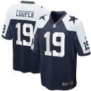 Hommes Cowboys de Dallas Amari Cooper Nike Marine Maillots de jeu alternatifs