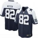 Maillot de match Nike Jason Witten Dallas Cowboys pour la jeunesse - Bleu marine