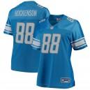 Detroit Lions Femmes T.J. Hockenson Maillot NFL Pro Line Blue Player