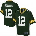 Maillot pour joueur de couleur verte Green Big & Tall Aaron Rodgers pour hommes de la Baie Green Packers Aaron Rodgers