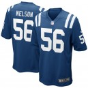 Maillot de football Nike Royal Royal pour Homme Colts d'Indianapolis Quenton Nelson