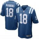 Maillots Peyton Manning Royal Royal de joueur d'Indianapolis Colts pour homme