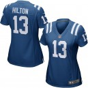 Femmes Indianapolis Colts T.Y. Hilton Nike Royal Game Maillot