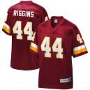 Maillot NFL Pro Line Bordeaux Redskins de John Riggins pour homme, réplique joueur de Bourgogne
