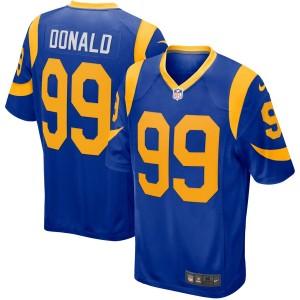 Hommes De Los Angeles Rams Aaron Donald Nike Royal lecteur Jeu Maillot