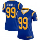 Rams de Los Angeles Femmes Aaron Donald Nike Royal Légende Maillot