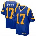 Rams de Los Angeles Robert Woods Nike Royal Jeu Maillot