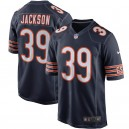 Hommes de Chicago Bears Eddie Jackson Nike Navy Player Jeu Maillot