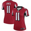 Femmes Atlanta Falcons Julio Jones Nike Rouge Legend Maillot
