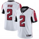Hommes Falcons d'Atlanta Matt Ryan Nike Blanc Vapor Intouchable Limited Player Maillot