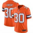 Phillip Lindsay Denver Broncos Maillot Nike Color Rush Vapor Limited - Orange
