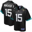 Hommes Jacksonville Jaguars Gardner Minshew II NFL Pro Line Noir lecteur Maillot
