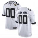Hommes Jacksonville Jaguars Nike White NFL Custom Jeu Maillot