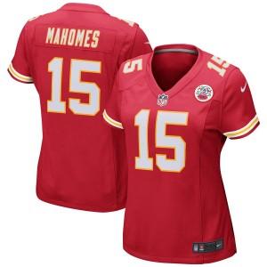 Femmes Kansas City Chiefs Patrick Mahomes Nike Rouge Jeu Maillot