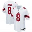 Maillot de match Nike Blanc Nike Hommes Giants de New York Daniel Jones