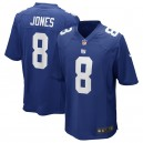 jeuMaillot de match Nike de Daniel Jones New York Giants - Royal