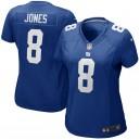 Maillot de match Nike pour femme Daniel Jones New York Giants - Royal