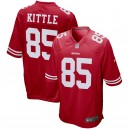 George Kittle San Francisco 49ers Maillot Nike Jeu - Scarlet