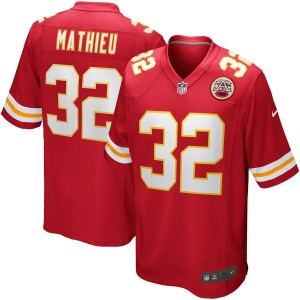 Hommes Kansas City Chiefs Tyrann Mathieu Nike Maillot Rouge Jeu