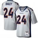 Hommes Denver Broncos Champ Bailey Mitchell - Ness Platinum NFL 100 retraité lecteur héritage Maillot