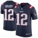 Tom Brady New England Patriots Nike Vapor Intouchable Color Rush limité lecteur Maillot - Marine