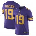 Adam Thielen Maillot pour joueur Nike Vapor Untouchable Color Rush Viking de Viking - Violet