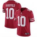 Jimmy Garoppolo San Francisco 49ers Nike Vapor Intouchable Limité Maillot - Écarlate